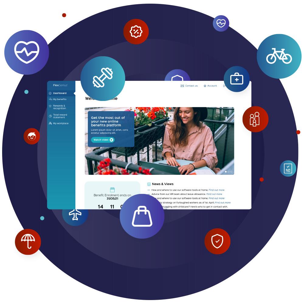 FlexGenius Avantus Employee Benefits platform